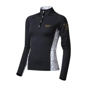 Musta värvi pluus|Ratsavarustus|Premium Horse